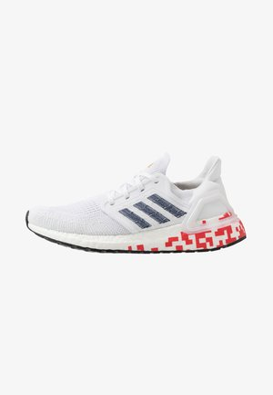 ULTRABOOST 20  - Neutral running shoes - footwear white/collegiate navy/scarlet