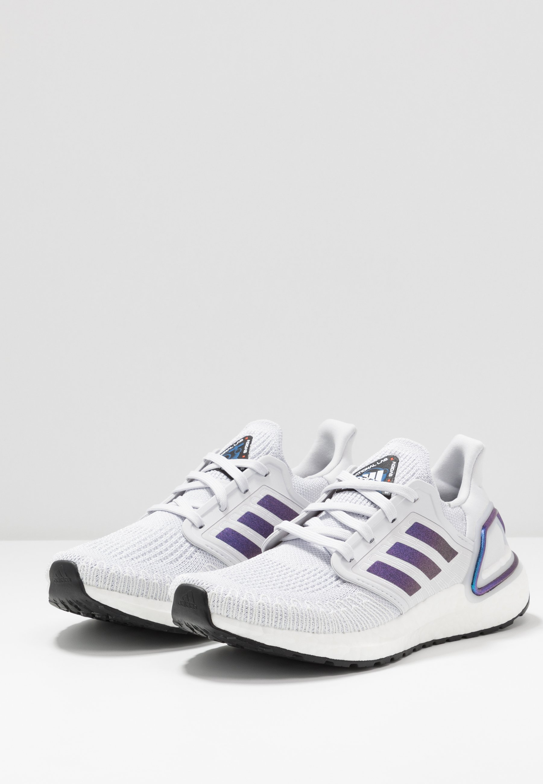 adidas Performance ULTRABOOST 20  - Neutrala löparskor - dash grey/blue violet metallic/core black