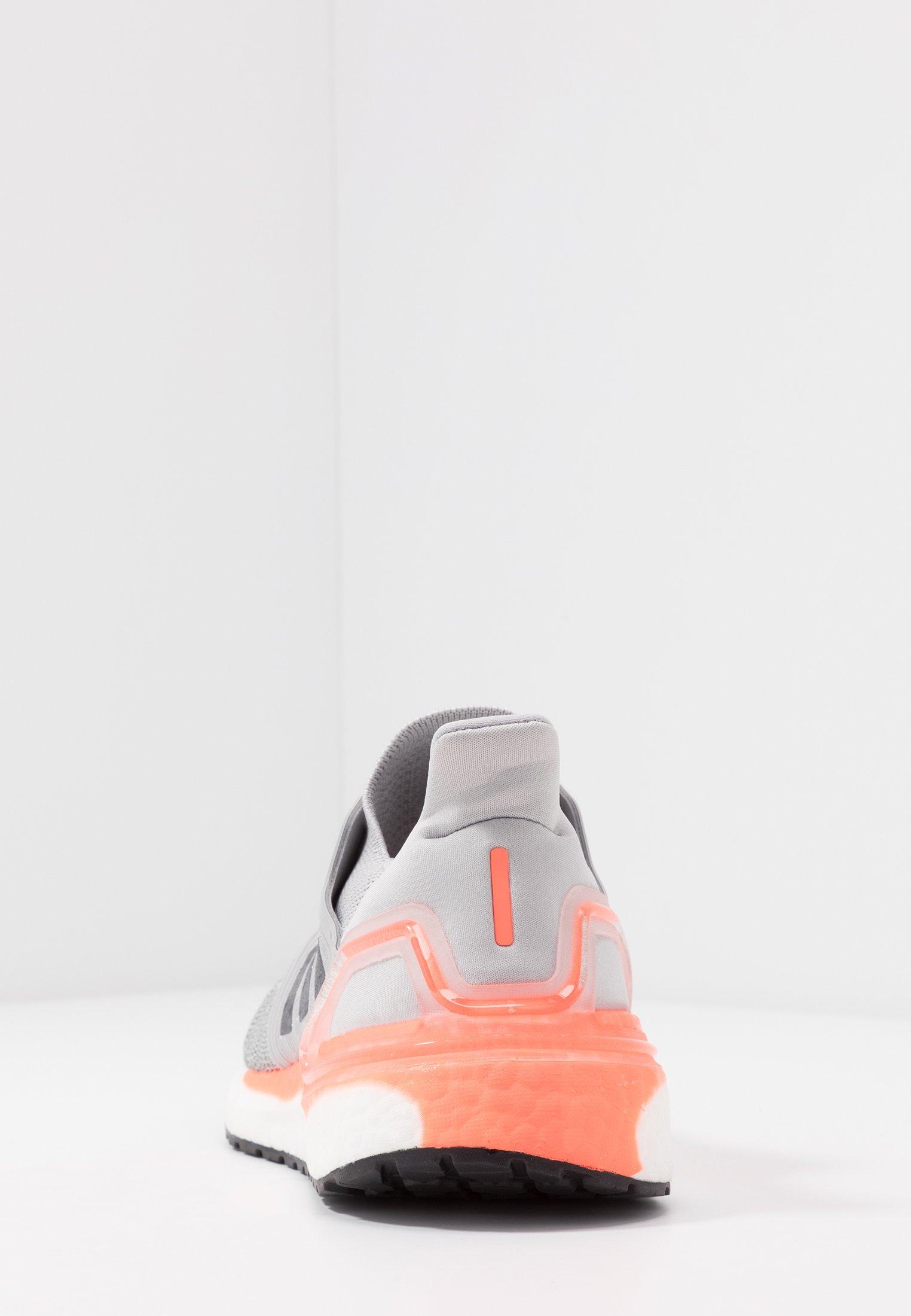 adidas Performance ULTRABOOST 20 - Neutrale løbesko - grey two/night metallic/signal coral