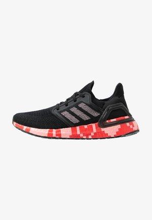 ULTRABOOST 20  - Neutral running shoes - core black/glow pink/scarlet
