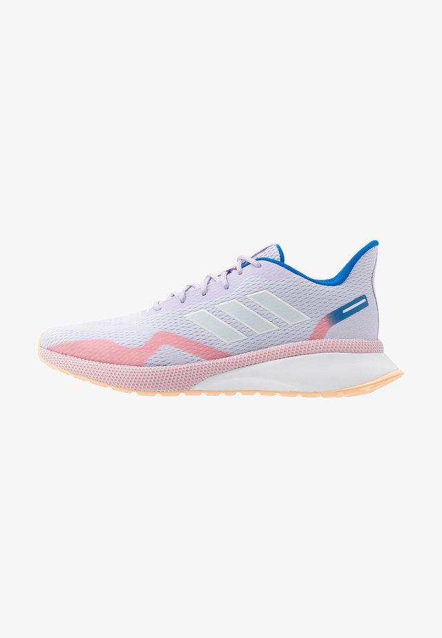 NOVAFVSE X - Zapatillas de running neutras - purple tint/sky tint/glow orange