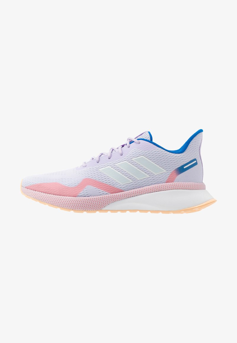 adidas Performance - NOVAFVSE X - Obuwie do biegania treningowe - purple tint/sky tint/glow orange