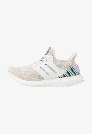 ULTRABOOST - Chaussures de running neutres - crystal white/glow green