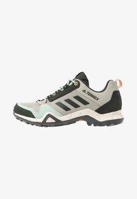adidas Performance - TERREX AX3 BLUESIGN - Hiking shoes - fear grey/legend earth/grey tint - 0