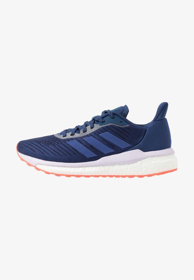 SOLAR DRIVE 19 - Neutral running shoes - tech indigo/blue vision metallic/purple tint