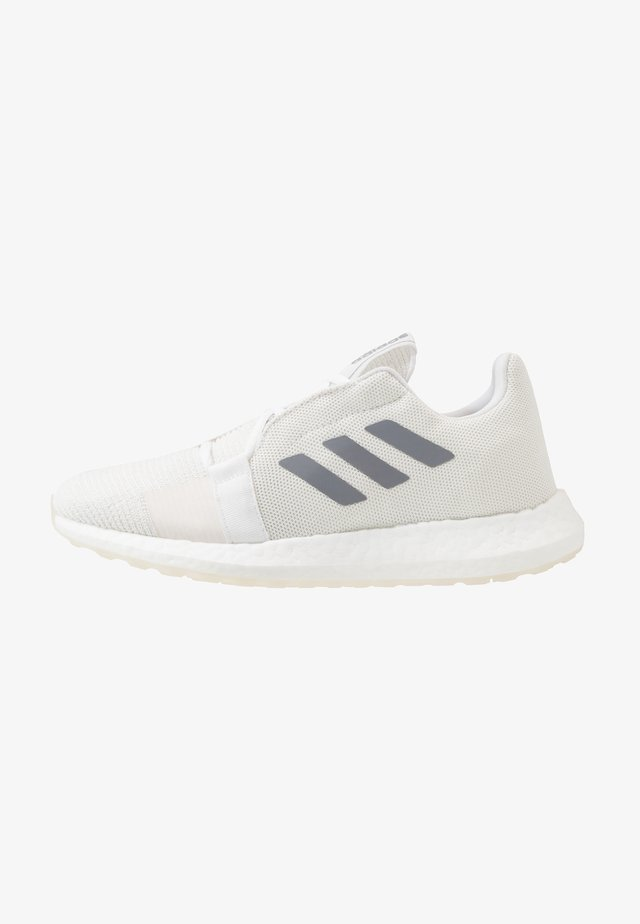 SENSEBOOST GO - Neutral running shoes - footwear white/grey three/cloud white