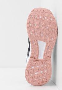 adidas Performance - DURAMO 9 - Obuwie do biegania treningowe - grey six/footwear white/pink spice - 4