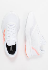 adidas Performance - NOVA FLOW - Neutral running shoes - footwear white/signal coral - 1