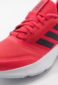 adidas Performance - NOVA FLOW - Zapatillas de running neutras - shock red/footwear white/legend ink - 5