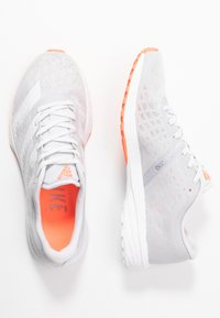adidas Performance - ADIZERO RC 2 - Obuwie do biegania treningowe - dash grey/footwear white/signal coral - 1