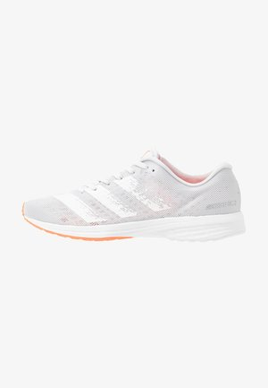 ADIZERO RC 2 - Laufschuh Neutral - dash grey/footwear white/signal coral