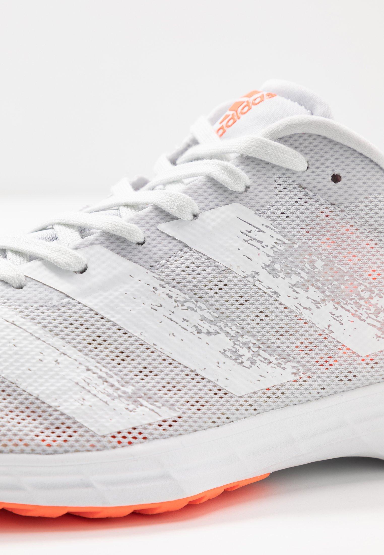 Adidas Performance Adizero Rc 2 - Nøytrale Løpesko Dash Grey/footwear White/signal Coral