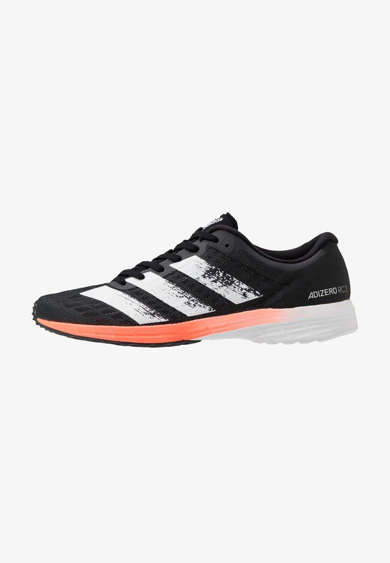 adidas Performance - ADIZERO RC 2 - Laufschuh Neutral - core black/footwear white