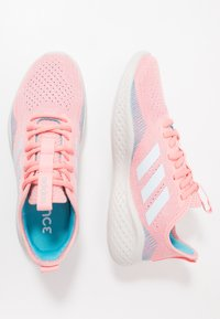 adidas Performance - FLUIDFLOW - Neutral running shoes - glow pink/sky tint/bright cyan - 1