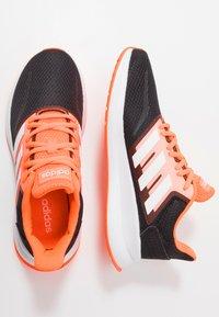adidas Performance - RUNFALCON - Zapatillas de running neutras - footwear white/dash grey/signal coral - 1