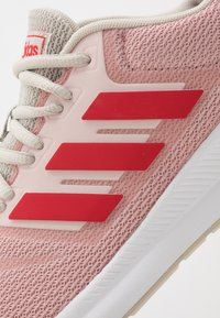 adidas Performance - RUNFALCON - Neutral running shoes - pink spirit/glow red/aluminium - 5
