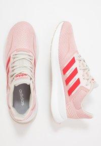 adidas Performance - RUNFALCON - Neutral running shoes - pink spirit/glow red/aluminium - 1