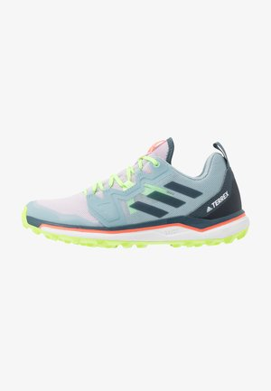TERREX AGRAVIC - Zapatillas de trail running - purple tint/legend blue/signal green