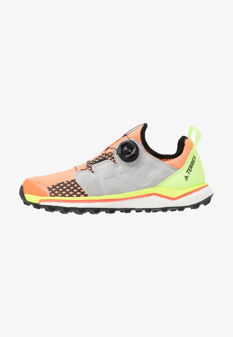 adidas Performance - TERREX AGRAVIC BOA - Zapatillas de trail running - amber tint/grey two/green