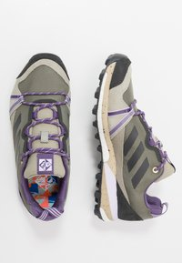adidas Performance - TERREX SKYCHASER LT - Běžecké boty do terénu - legend green/dough solid grey/purple tint - 1