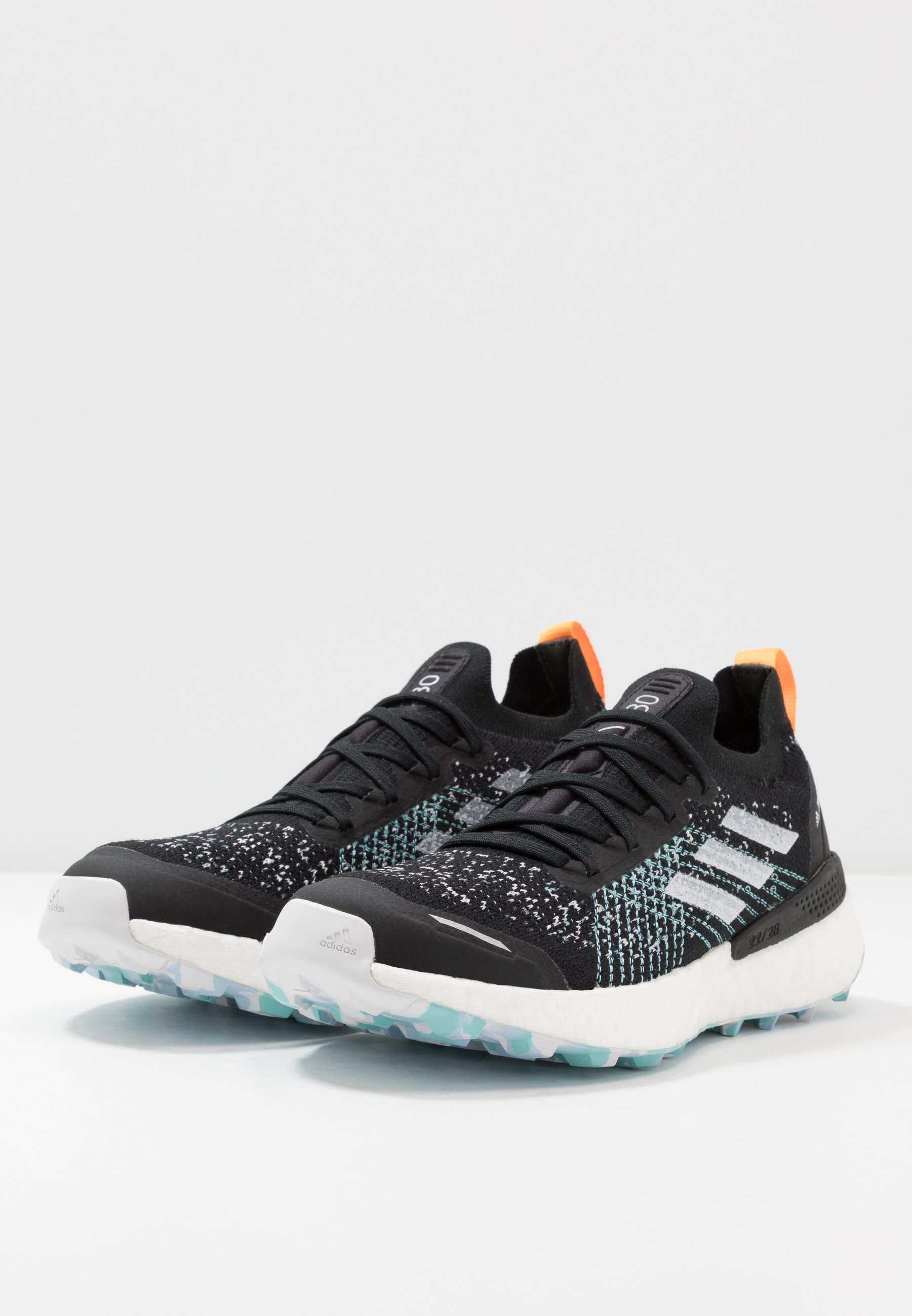 adidas Performance TERREX TWO ULTRA PARLEY - Scarpe da trail running - core black/dash grey/blue spirit k08l6F3Z
