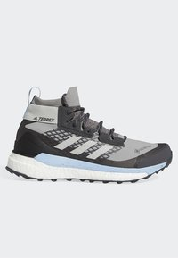 adidas Performance - TERREX FREE HIKER GTX SHOES - Hiking shoes - grey - 7