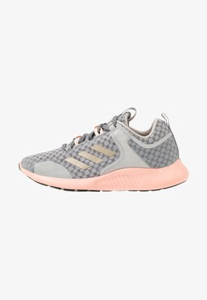 EDGEBOUNCE 1.5 - Neutral running shoes - grey two/cyber metallic/glow pink