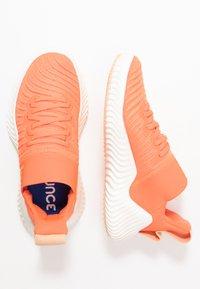 adidas Performance - ALPHABOUNCE TRAINER  - Treningssko - hi-res coral/glow orange/core white - 1