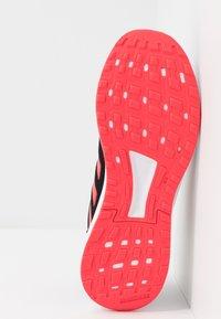 adidas Performance - DURAMO 9 - Kuntoilukengät - core black/shock red/footwear white - 4