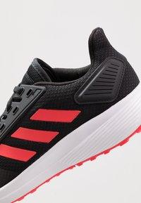 adidas Performance - DURAMO 9 - Kuntoilukengät - core black/shock red/footwear white - 5