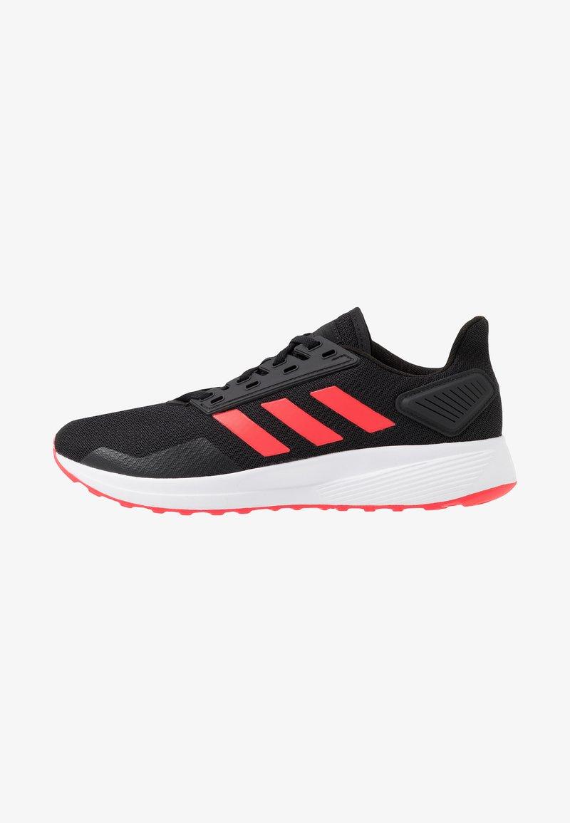 adidas Performance - DURAMO 9 - Kuntoilukengät - core black/shock red/footwear white