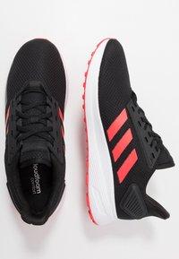 adidas Performance - DURAMO 9 - Kuntoilukengät - core black/shock red/footwear white - 1
