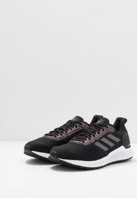 adidas Performance - SOLAR RIDE - Sports shoes - core black/night metallic/grey six - 2