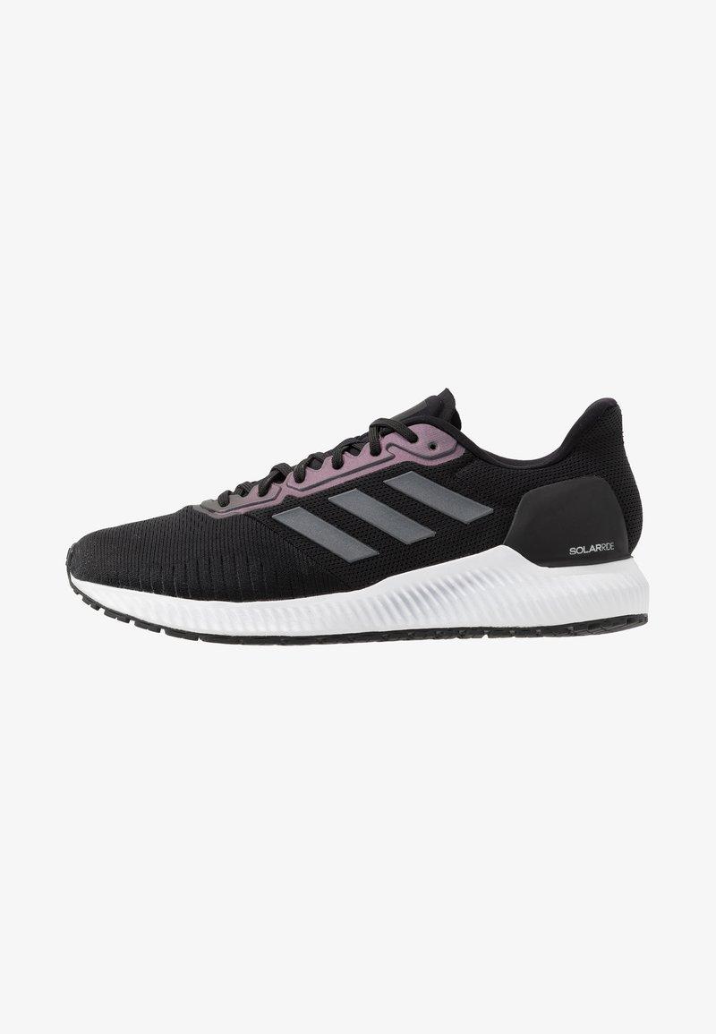 adidas Performance - SOLAR RIDE - Sports shoes - core black/night metallic/grey six
