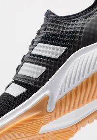 adidas Performance - COURT TEAM BOUNCE - Handball shoes - core black/silver metallic/footwear white - 5