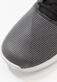adidas Performance - GAMECOURT - Multicourt tennis shoes - core black/copper metallic/footwear white - 5