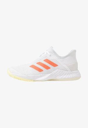 ADIZERO CLUB - Multicourt tennis shoes - footwear white/amber tint/sky tint