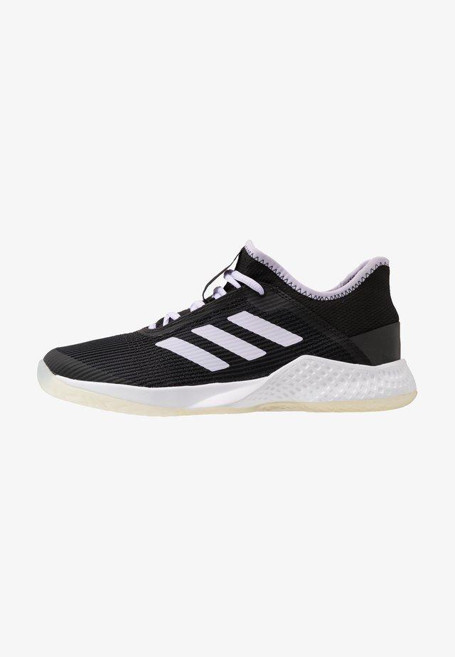 ADIZERO CLUB - Multicourt Tennisschuh - core black/prurple tint/footwear white