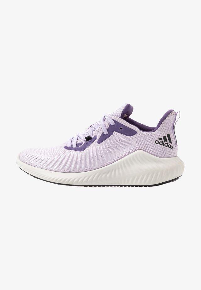 ALPHABOUNCE 3 - Zapatillas de running neutras - purple tint/core black/tech purple