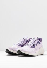 adidas Performance - ALPHABOUNCE 3 - Neutrální běžecké boty - purple tint/core black/tech purple - 2