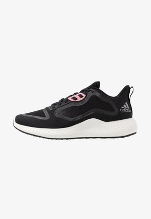 EDGE RC 3 - Zapatillas de running neutras - core black/silver metallic/glow pink