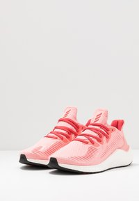 adidas Performance - ALPHABOOST - Neutral running shoes - glow pink/glow red/silver metallic - 2