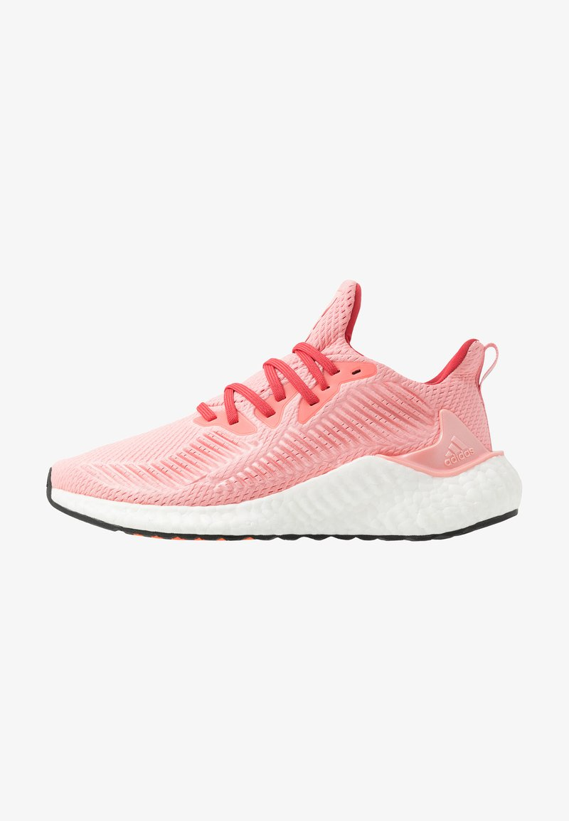 adidas Performance - ALPHABOOST - Neutral running shoes - glow pink/glow red/silver metallic