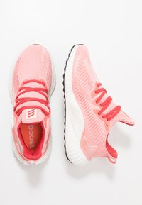 adidas Performance - ALPHABOOST - Neutral running shoes - glow pink/glow red/silver metallic - 1