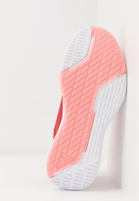 adidas Performance - FITBOUNCE TRAINER - Sports shoes - glow red/footwear white/glow pink - 4