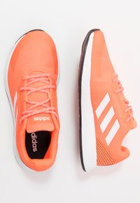 adidas Performance - SOORAJ - Neutral running shoes - signal coral/footwear white/core black - 1