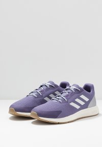 adidas Performance - SOORAJ - Zapatillas de running neutras - tech purple/dash grey/metallic silver - 2
