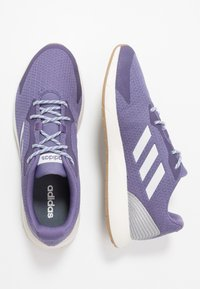 adidas Performance - SOORAJ - Zapatillas de running neutras - tech purple/dash grey/metallic silver - 1