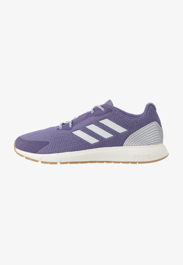 SOORAJ - Neutral running shoes - tech purple/dash grey/metallic silver