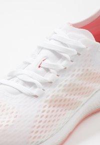 adidas Performance - FOCUS BREATHE IN - Zapatillas de running neutras - footwear white/glow pink - 5